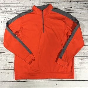Nike golf therma fit mock neck pullover